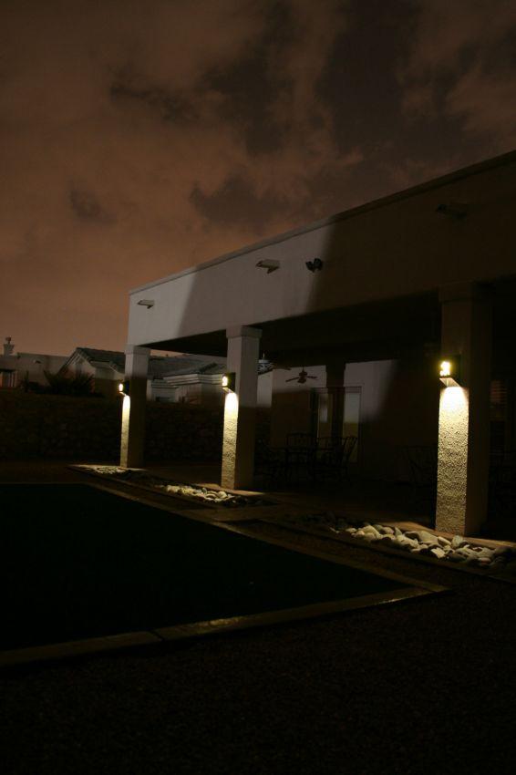 Solar Sconce Yardbright Landscape Lighting Garden