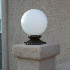 12v Globe Fence Light Yardbright Landscape Lighting