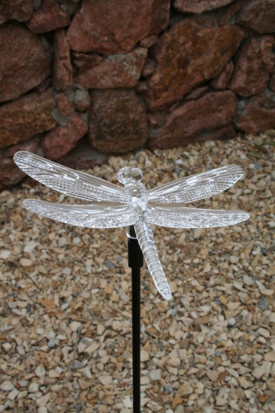 Dragonfly Solar Stake Light Yardbright Landscape