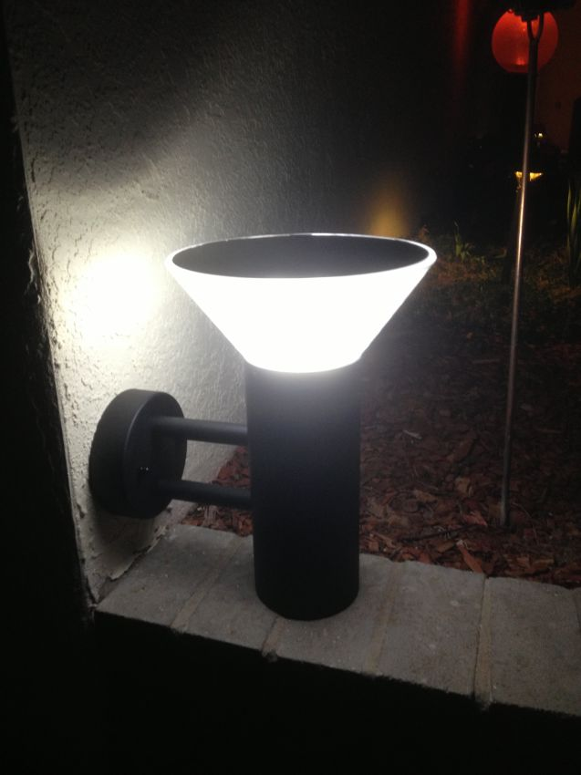 Premium Modern Solar Wall Light Yardbright Landscape