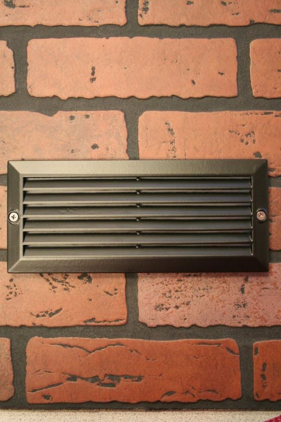 Louvered Brick Light Yardbright Landscape Lighting