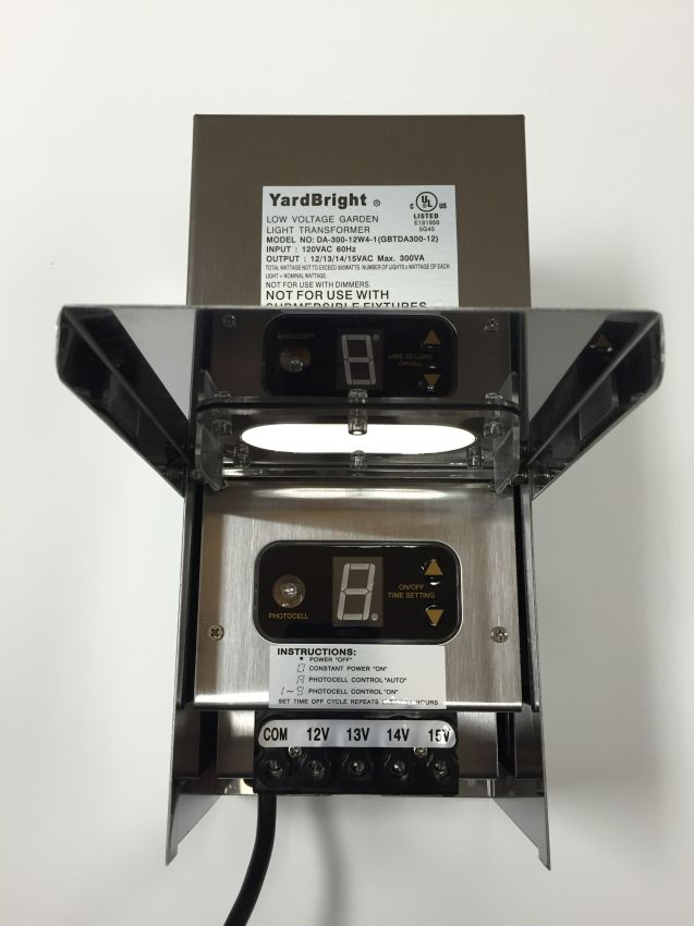 300 Watt Multi Tap Transformer Yardbright Landscape