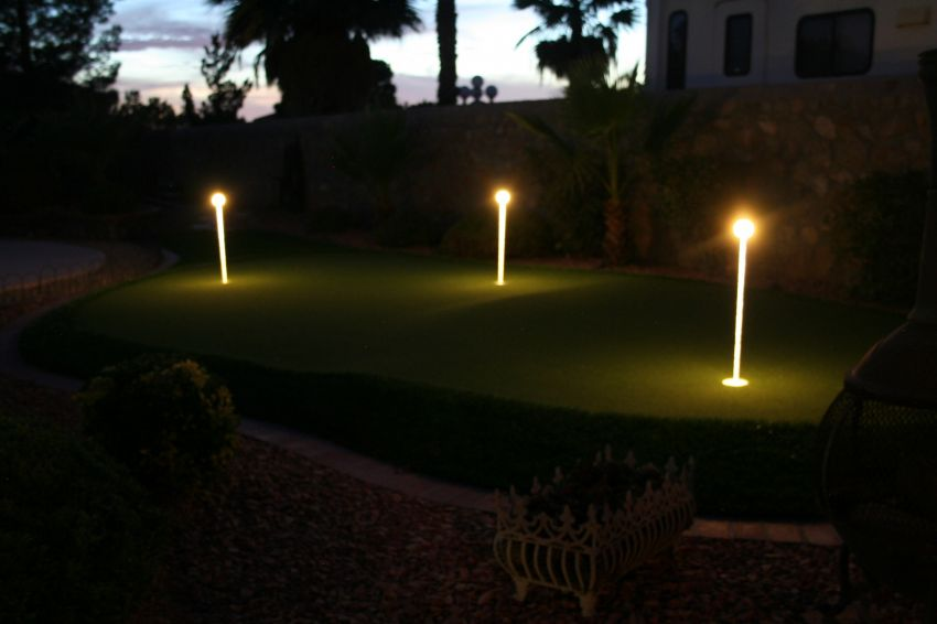 Putting Green Lights 4 Pack Yardbright Landscape