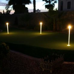 Putting Green Lights    4 Pack