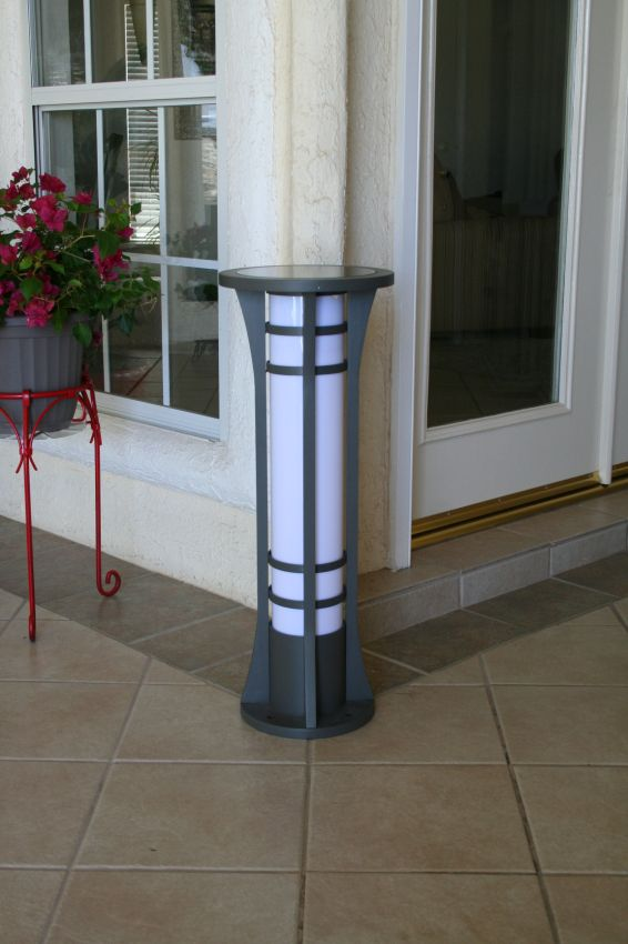 Outdoor Solar Pedestal Lights Outdoor Lighting Ideas
