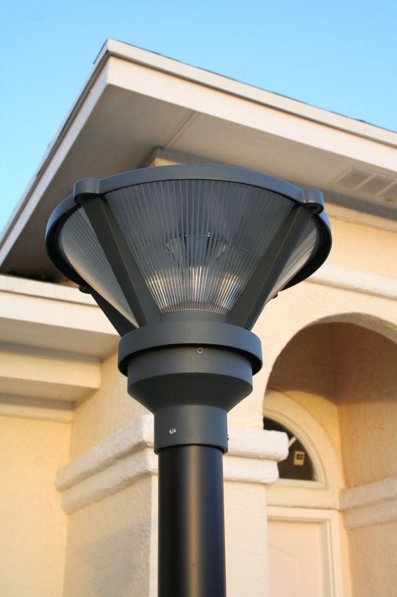 Premium Solar Post Light Yardbright Landscape Lighting