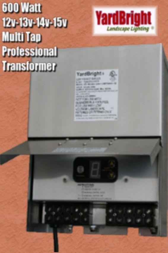 600 Watt Multi Tap Transformer Yardbright Landscape
