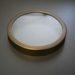 well light glass cover for par36 well light