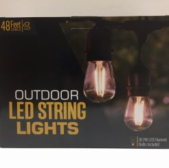 120V Outdoor / Indoor Led Bistro String Lights