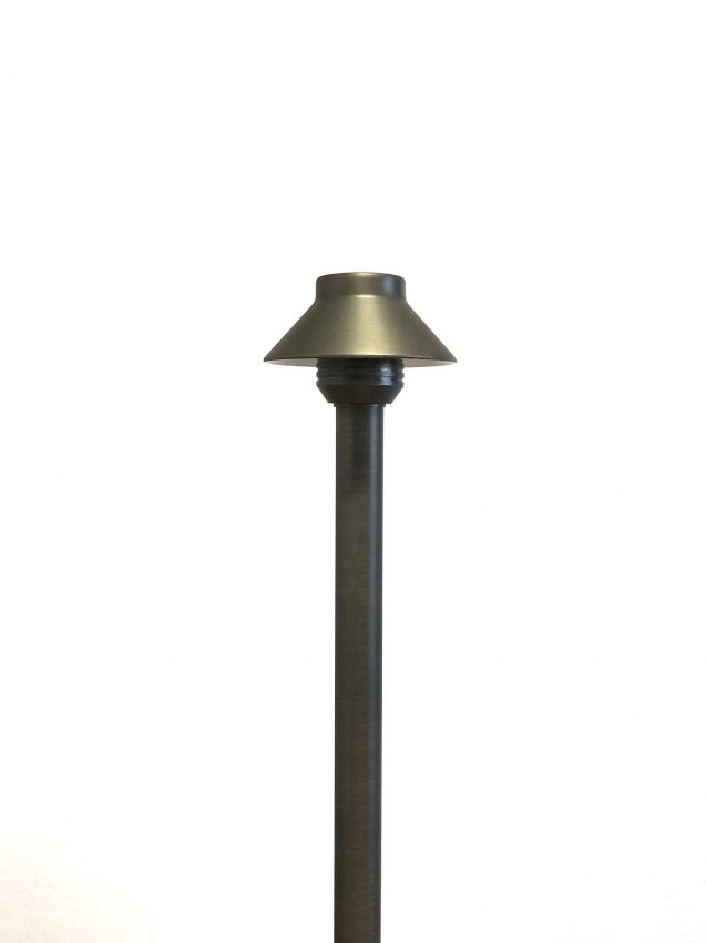 Premium Bronze Slim Area Light Yardbright Landscape